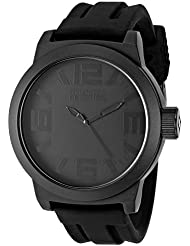 Kenneth Cole Reaction Mens RK1227 Classic Oversized Round Analog Field Watch