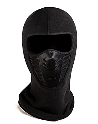 Joyoldelf Warmer Balaclava Face Mask Winter Fleece Outdoor Ski Sport with Windproof for Men and Women