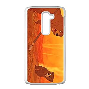 LG G2 Cell Phone Case White Disney Brother Bear Character Koda Ahyym