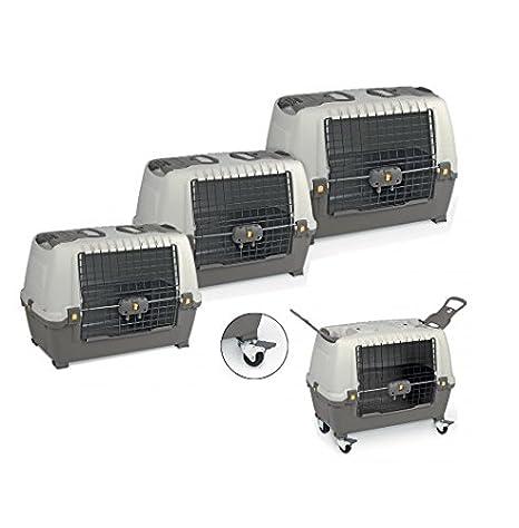 Skudo - Transportín homologado para perro o gato para el coche: Amazon.es: Hogar
