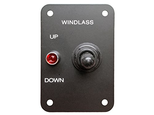 Marine Anchor Windlass up & Down 12v Toggle Control Switch Panel - Five Oceans