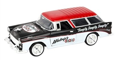 """Darrell Waltrip """"Boogity, Boogity, Boogity"""" 1955 Chevrolet Nomad NASCAR Diecast Car, 1:24 Scale ARC HO from Lionel Racing"""