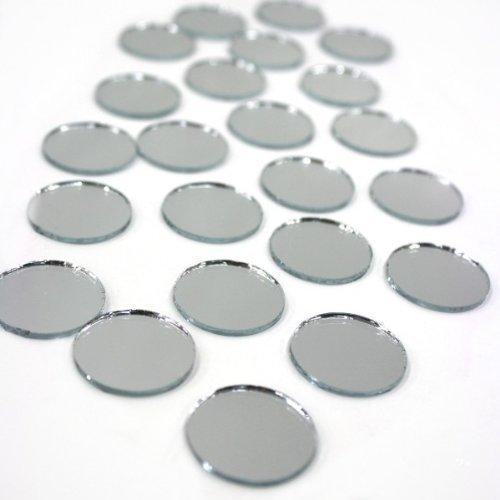 Value, Round mirror, 1-Inch by Darice (Darice Big Value Mirrors)
