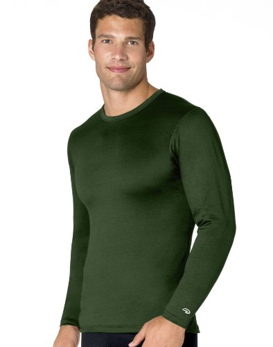 Varitherm Men's Long Sleeve Crew (Jersey Cotton Duofold)