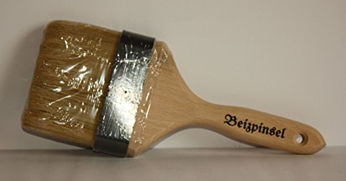 Beizpinsel 11 cm, helle Chinaborste