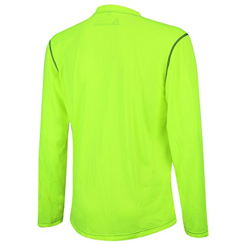 Pro functional T Air lunga Active Funktions shirt manica Fluo running atumungs Running Artracks aazBX4Sq6