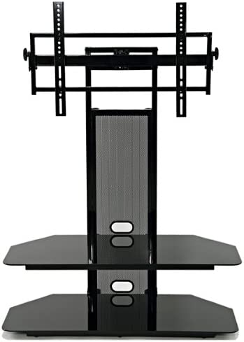 LCD LED TV Stand for 40 to 65-Inch Flat Panel LCD TV with Universal LCD Mounting System