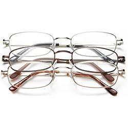 Optx 20/20 Staple Reading Glasses, + 175, (Pack of 3)