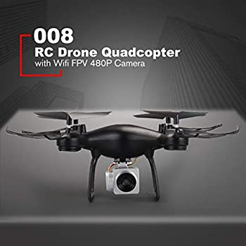 008 Smart Selfie RC Quadcopter Drone with 480P Live Video Camera Altitude Hold Headless Mode One Key Take-Off RTF