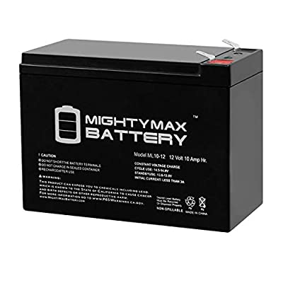 Mighty Max Battery 12V 10AH Mongoose M250 Scooter Battery Brand Product: Electronics