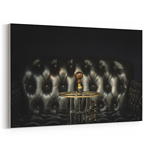 Westlake Art - Couch Leather - 24x36 Canvas Print Wall Art -