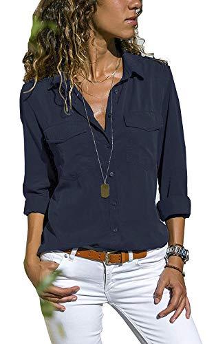 fce9641bf5db UMIPUBO Bluas de Mujer Camisa Algodón Blusa Mujer Elegante Manga Larga  Camisa Suelta Mujer Casual Invierno Primavera Shirts