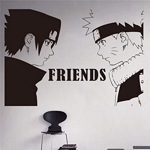 yiyitop Anime japonés Naruto Naruto y Sasuke Tatuajes de Pared ...