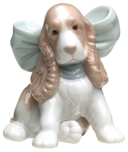 Porcelain Puppy (Nao Puppy Present Porcelain Figurine)
