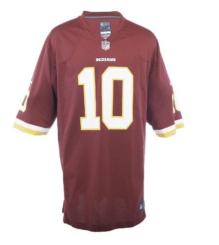 Robert Griffin III Number 1 Draft Pick Jersey: Home Burgundy Game Nike Elite Washington Redskins Jersey – Sports Center Store