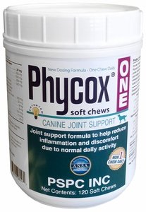 PhyCox Soft Chews (120 Soft Chews) + FREE Joint Treats