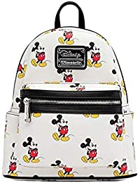 Disney Mickey Mini Backpack, White, Size One Size