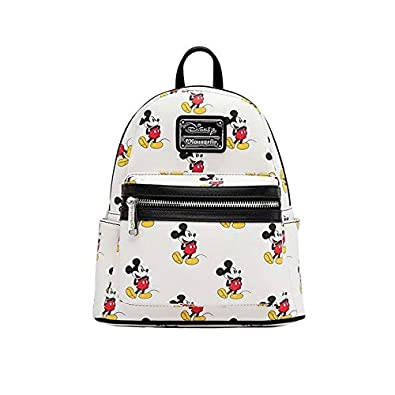 Amazon.com | Loungefly Disney Mickey Mini Backpack | Casual ...