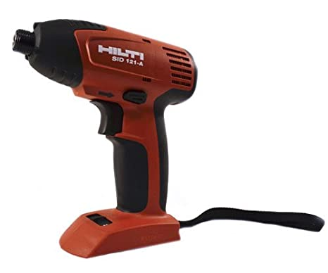Amazon.com: HILTI Sid 121-A – 1/4in. Hex Taladro 12 V ...