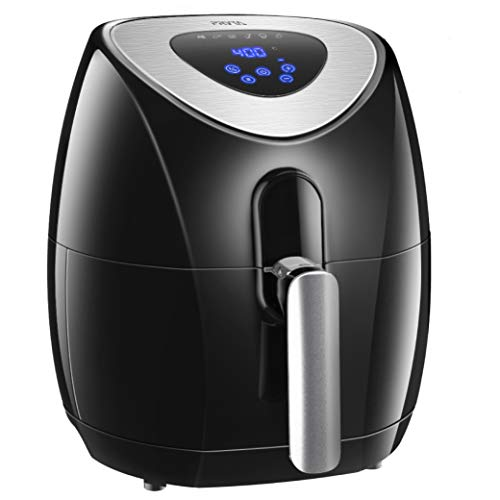 PRYTA Air Fryer, 3.4 Quart 6 Cook Presets Oil Less Fryer Comes with 50 Recipes, Touch Screen Control, Dishwasher Safe, Non-Stick Interior, 1500W For Sale