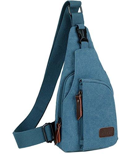 Bolsos Paquete de Mochilas hombres YAOBAO pecho Blue de cofre YAOBAO de mensajero de ocasionales Mochilas de deportivos pequeñas Bolsos hombro los BwgqPw5n