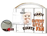 "KH Sports Fan 10""x8"" Weathered San Francisco Giants Clip It Baby Logo Photo Frame"