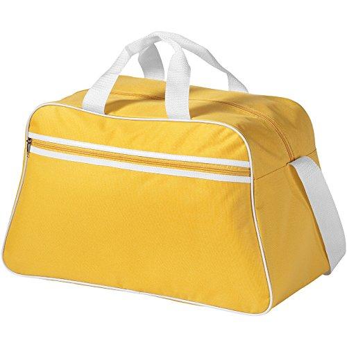 Borsa Borsone sportivo San jose in poliestere 2 manici e tracolla regolabile amarillo