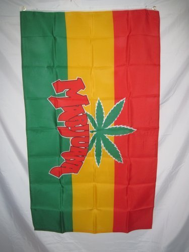 Quarks Rasta Rastafarian Marijuana Flag 3 X 5 3X5 Feet New b