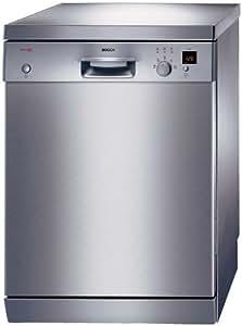 Bosch SGS45E08EU Independiente 12espacios A lavavajilla - Lavavajillas (Independiente, Acero inoxidable, Acero inoxidable, Botones, Giratorio, 1,8 m, 1,45 m)