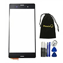 Mencia Black Color Touch Screen Digitizer Assembly For Sony Xperia Z3 L55T L55U D6653 D6633 D6603 With Free Tool (NO LCD)