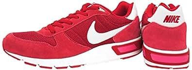 Nike Nightgazer - Zapatillas para hombre, color rojo/blanco, talla 42
