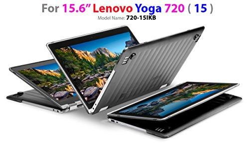 mCover Hard Shell Case for 15.6 Lenovo Yoga 720 (15) Laptop (Black)
