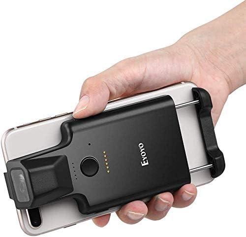 Eyoyo 2D Bluetooth Port/átil C/ódigo Barras Escaner IPHONE Espalda Clip Inal/ámbrico 1D Qr Lector Con Bluetooth Funci/ón PDF417 Datos Matriz C/ódigo Maxicode Imagen Scanning Para Smartphone
