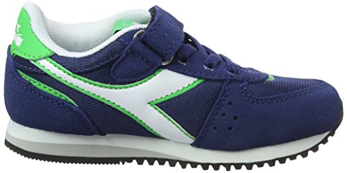 Diadora NYL Gymnastics Verde Malone Veleno Shoes Blu Ps Estate Boys' Blu afPacR