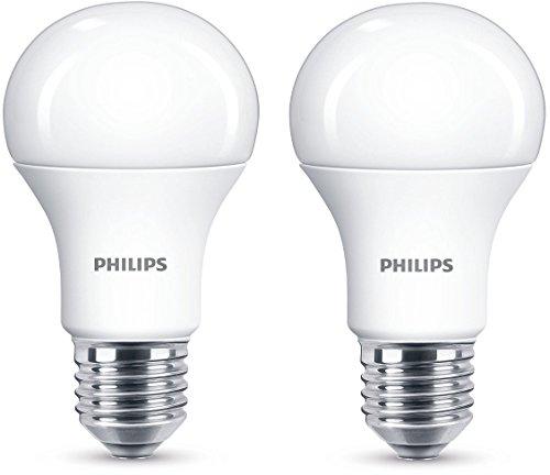 Philips LED Lampe, ersetzt 100 W, E27, warmweiß (2700K), 1521 Lumen, Doppelpack, 8718696586099
