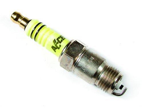 Accel Mustang Performance Spark Plug - ACCEL 8179 Performance U-Groove Resistor Blister-Pak Spark Plug - Pack of 8