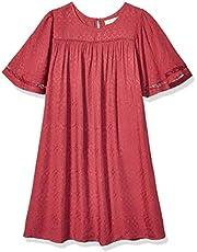 فستان قصير بأكمام فضفاضة من الدانتيل من لوف فاير للفتيات