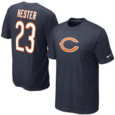 Devin Hester Chicago Bears Toddler Whirlwind Jersey Name and Number T-Shirt ()