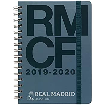 Amazon.com: Real Madrid 2019-2020 Academic Diary, Organiser ...