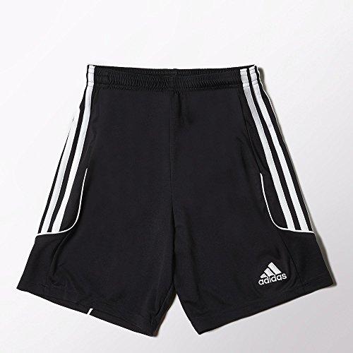 adidas Performance Boys Squadra 13 Shorts, Youth X-Large, Black/White