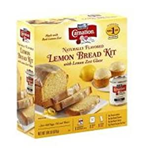 Carnation, Lemon Bread Kit with Lemon Zest Glaze