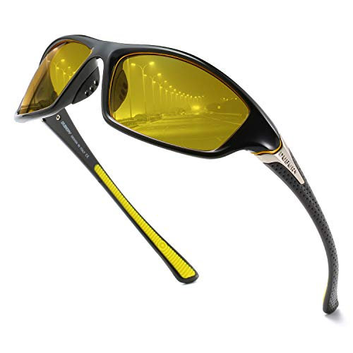 Sports Polarized Sunglasses For Men Cycling Driving Fishing 100% UV Protection ()