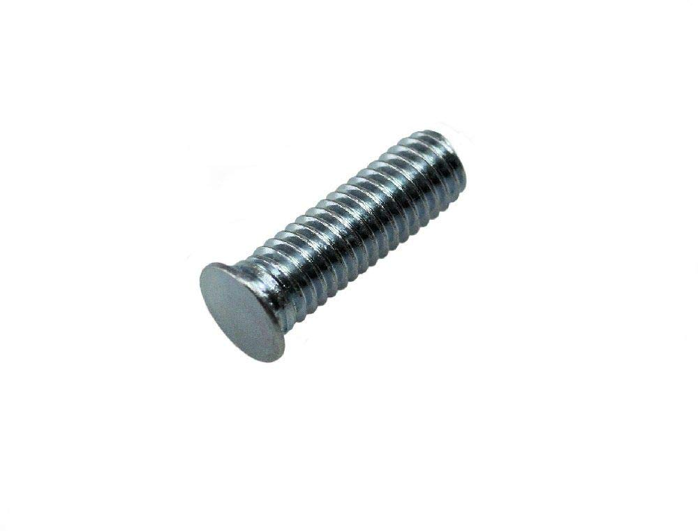 Unicorp EFH-032-14 Round Captive Stud Flush Threaded Steel Zinc QTY-50 10-32 THD x .875 lg