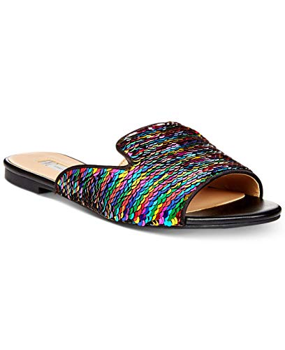 INC International Concepts Womens Mayla Open Toe Casual, Rainbow Multi, Size 9.0 (Inc International Concepts Heels)