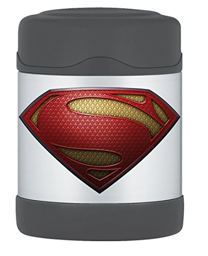Thermos Funtainer 10 Ounce Food Jar, Superman Man of Steel
