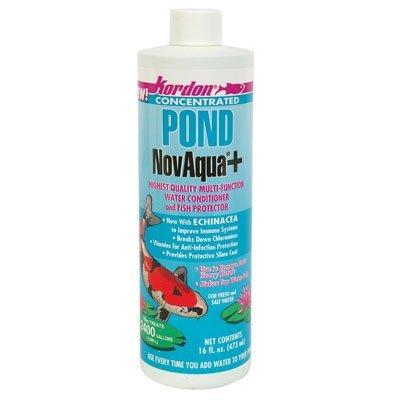 Kordon Pond (KORDON  #30011   Pond NovAqua Plus Concentrated Conditioner for Aquarium,)