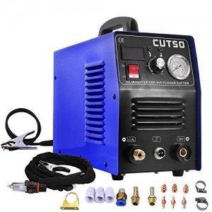 TOSENSE プラズマ切断機 &インバーター制御 プラズマカッター 手軽いハイテク100v/200v兼用機 CUT50[送料無料] B0795Q59LR