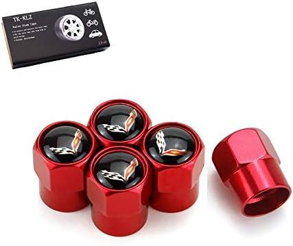Amazon.com: TK-KLZ - 4 tapas para válvula de neumáticos de ...