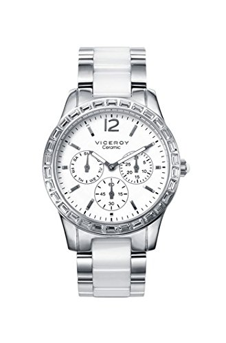 Viceroy Reloj Multiesfera para Hombre de Cuarzo con Correa en Acero Inoxidable 461016-05: Amazon.es: Relojes