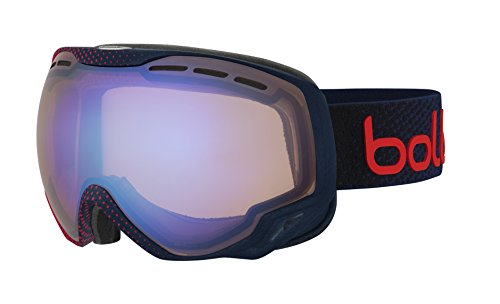 Bolle Emperor Googles, Blue/Red Dots/Aurora